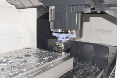 Angle head for side machining on FJV 35